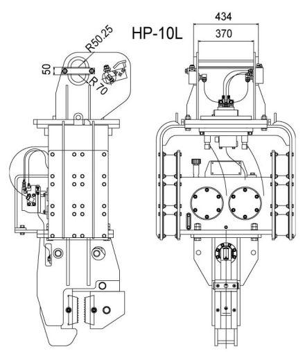 Sheetpilers HP-10L
